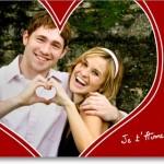 Préparez votre carte d'amour pour la Saint Valentin !