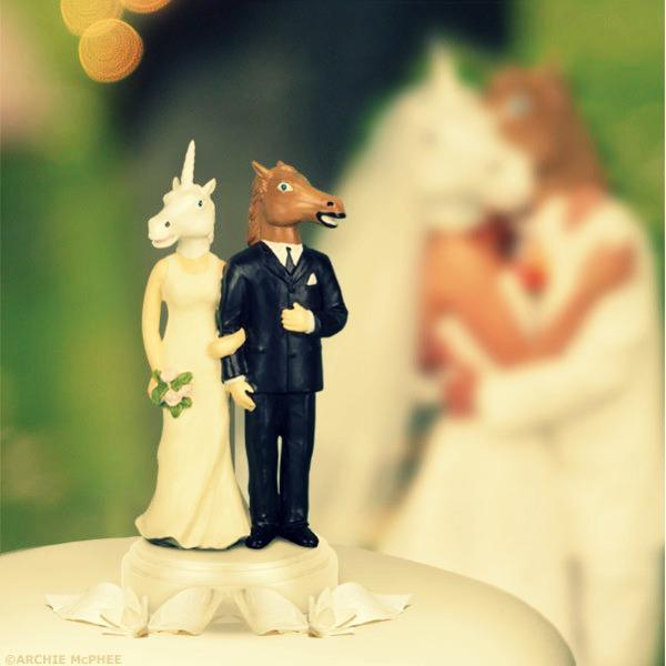 Figurines gateau de mariage