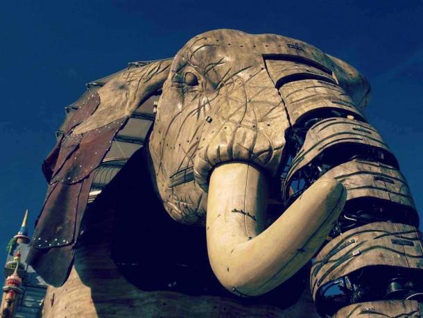 éléphant machine de l'ile de Nantes