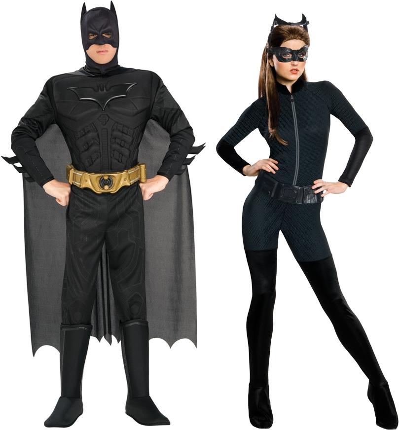 batman et catwoman deguisement