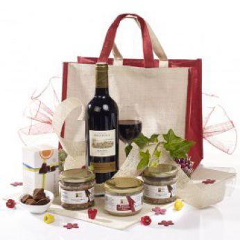 cadeau de mariage sac champêtre