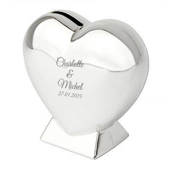 cadeau de mariage tirelire personnalisable