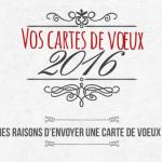 7 raisons de choisir la carte de vœux papier en 2016 ! [Infographie]