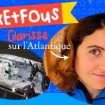 POPCARTE SOUTIENT CLARISSE SUR L'ATLANTIQUE