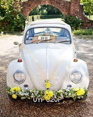 10 fleurs incontournables pour un mariage vintage popcarte - Decoration voiture mariage sans fleur ...