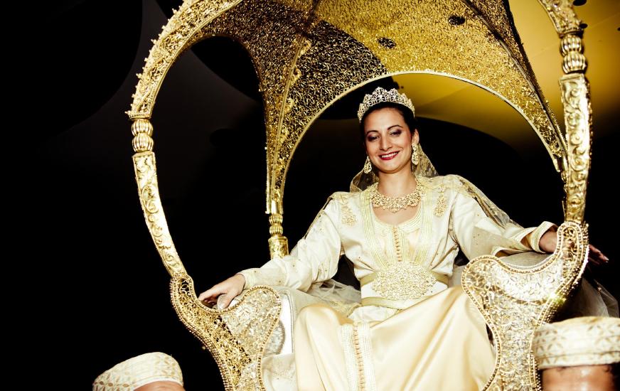 Les 12 étapes du mariage marocain