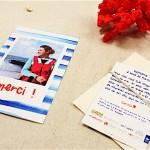 Clarisse sur l'Atlantique remercie ses généreux donateurs avec Popcarte !