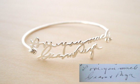 sale-memorial-signature-bangle-personalized-handwriting-bangle-handwriting-bracelet-signature-bracelet-bridesmaid-gift-mother-gift