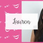 Lauren, la comique