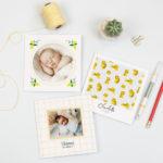 Faire-part naissance : la nouvelle collection 2018 Popcarte est là !