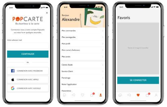 Application Popcarte