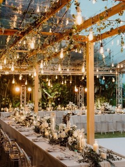 décoration lumière guirlande mariage Westwing