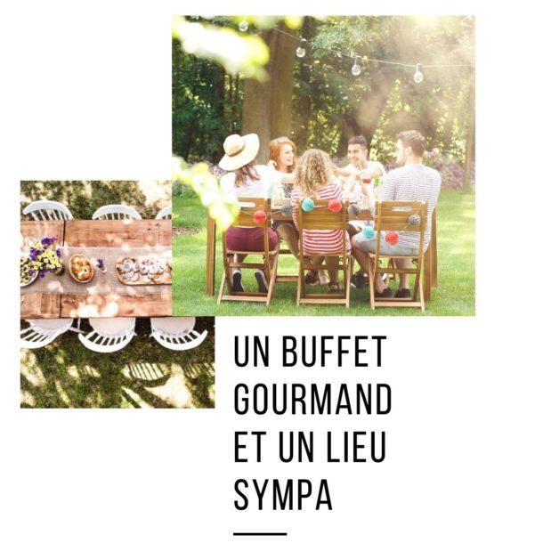 buffet anniversaire