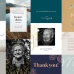 Cartes Remerciement Décès : la nouvelle collection 2021 est là