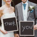 Comment remercier ses prestataires de mariage ?